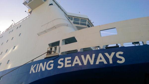 nieuwe deuren voor de KING Seaways